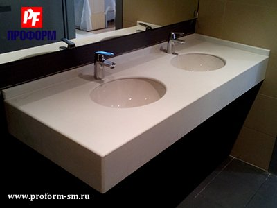 Vanity tops from artificial stone Montelli №5
