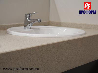 Vanity tops from artificial stone Montelli №3