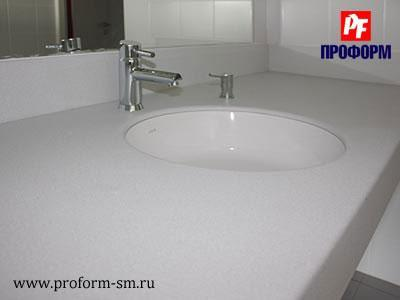 Vanity tops from artificial stone Montelli №4