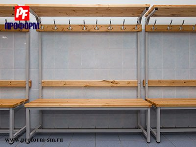 Benches for fitting rooms №5