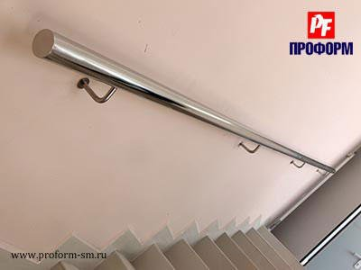 Steel handholds and banister from stainless steel №2