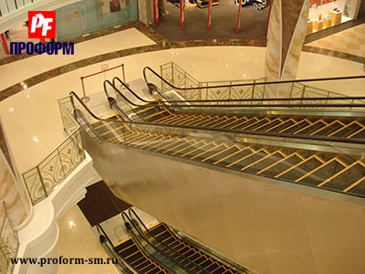 Escalators and moving walkways Trim Stainless №5