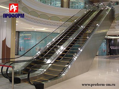 Escalators and moving walkways Trim Stainless №1